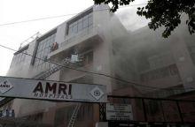Rescue operations at AMRI hospital in Kolkata