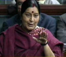 Sushma Swaraj in Lok Sabha