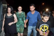Babita Kapoor, Kareena Kapoor and Saif Ali Khan