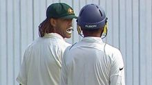Andrew Symonds and Harbhajan Singh