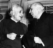 Jawaharlal Nehru with Albert Einstein