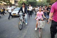 Shah Rukh Khan with Suhana