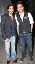 Jackky Bhagnani and Shah Rukh Khan