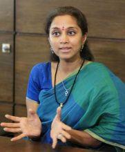 Nationalist Congress Party leader Supriya Sule