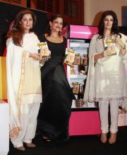 Dimple Kapadia, Kalli Purie and Twinkle Khanna