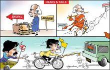 LK Advani, Narendra Modi