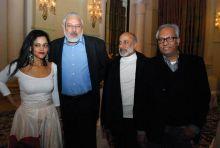 Kalli Purie and Arun Kapur and Aman Nath and Atul Dodiya