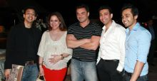 Sohail Khan with guests