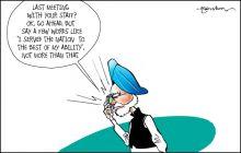 Manmohan Singh's farewell