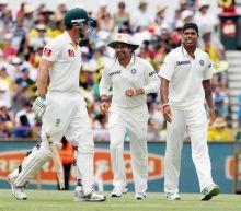 Shaun Marsh, Sachin Tendulkar and Umesh Yadav