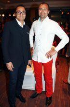 Rahul Bose with Raj Singh Bhandal