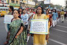 Rally in support of the Kolkata rape victim