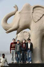 Elephant gallery at Ambedkar Park