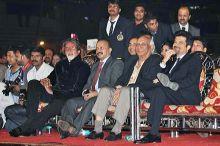 Amitabh Bachchan, Yash Chopra and Anil Kapoor