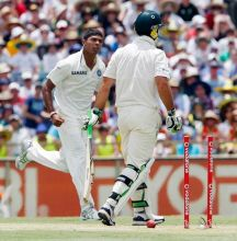 Umesh Yadav and Ricky Ponting
