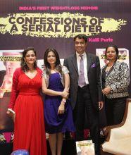 Kalli Purie, Koel Mallick , Sethu Vaidyanathan and Priya Paul