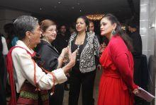 Kalli Purie with Priya Paul, Naina Bhagat