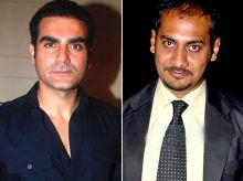 Arbaaz Khan and Anurag Kashyap
