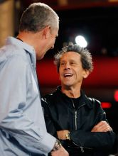 Assistant Producer Michael Rosenberg (left) and Brian Grazer