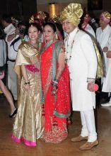 Vaishali Deshmukh, Amit and Aditi.