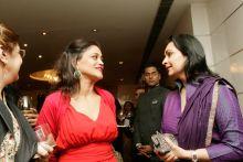 Kalli Purie with Madhu Neotia