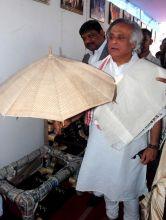 Minister for Rural Development Jairam Ramesh