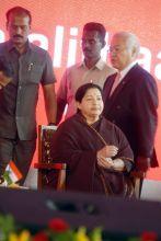 Tamil Nadu Chief Minister J. Jayalalithaa
