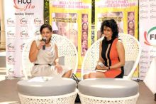 Kalli Purie with Gul Panag