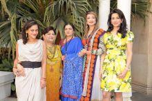 Kalli Purie, Neelam Miglani, Sucheta Shah, Malti Jain, Sheetal Ansal