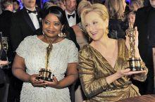 Octavia Spencer and Meryl Streep