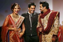 Bipasha Basu, R. Madhavan walked for designer Rocky S
