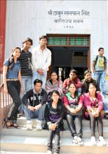 Students of Benaras Hindu Universtity