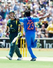 Vinay Kumar and Ricky Ponting