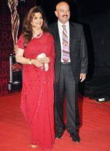 Rakesh Roshan and Pinky Roshan