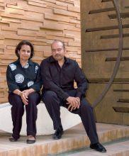 Lekha and Anupam Poddar