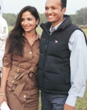 Naveen Jindal and Shallu Jindal