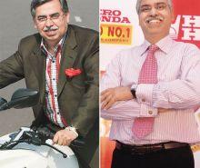 Pawan Munjal and Sunil Kant Munjal