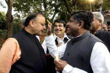 Ravi Shankar Prasad and Arun Jaitley