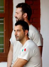 Salvatore Girone and Massimiliano Latorre