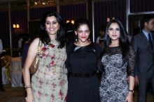 (From left) Geetanjali Kirloskar, Kalli Purie and Ramya
