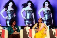 Kaveree Bamzai and Kareena Kapoor