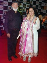 Ila Arun with husband