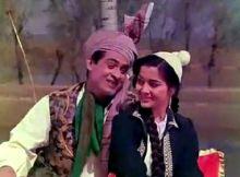 Joy Mukherjee in a still from Phir Wohi Dil Laya Hoon