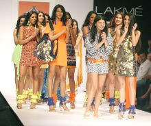 Day 2 of the Lakme Fashion Week