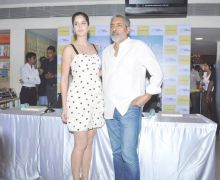 Katrina Kaif and Prakash Jha
