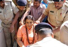 Sadhvi Pragya produced inn Bhopal court