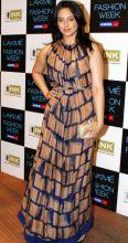 Sonakshi Sinha at the Lakme Fashion Week Summer/Resort 2012