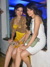 Shama Sikander with a friend