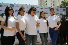 Sajid Khan with Zarine Khan, Asin, Shazahn Padamsee and Jacqueline Fernandez
