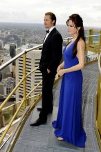 Brad Pitt and Angelina Jolie's wax statues